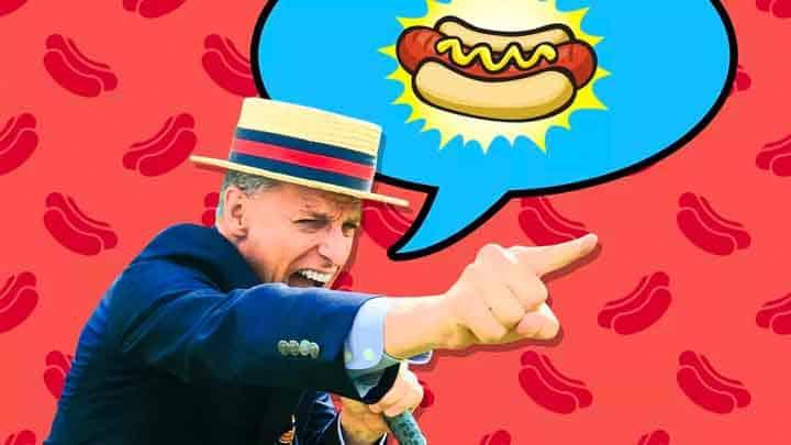 Nathans Hotdog eating contest