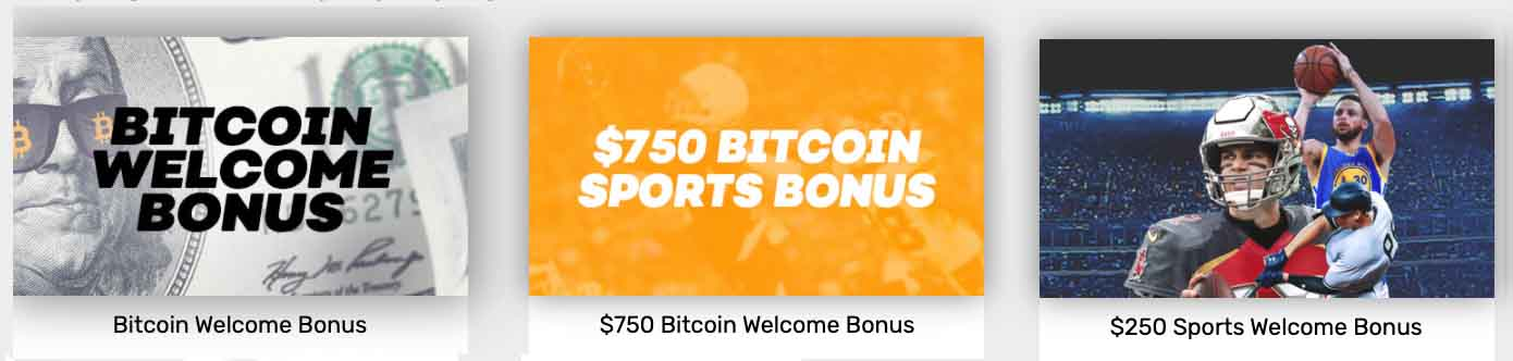 Bovada bonus options