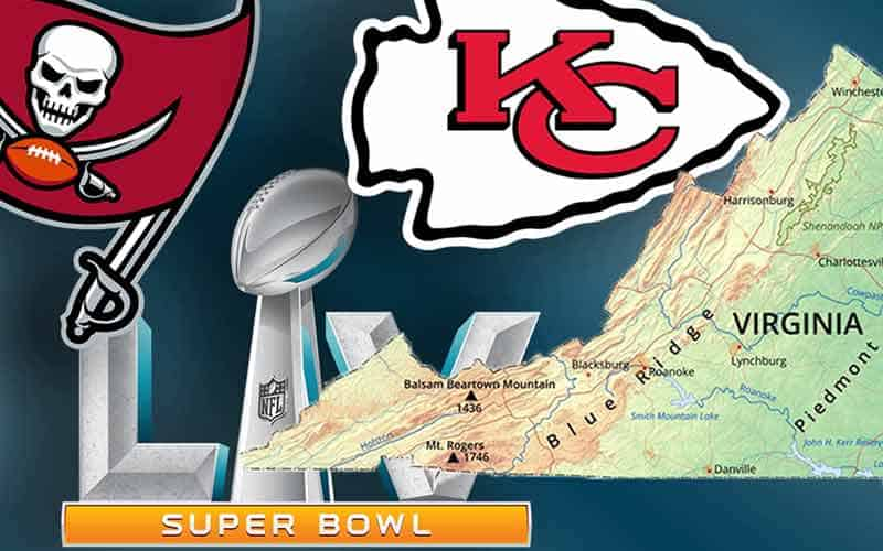 Betting on Super Bowl 55 in Virginia