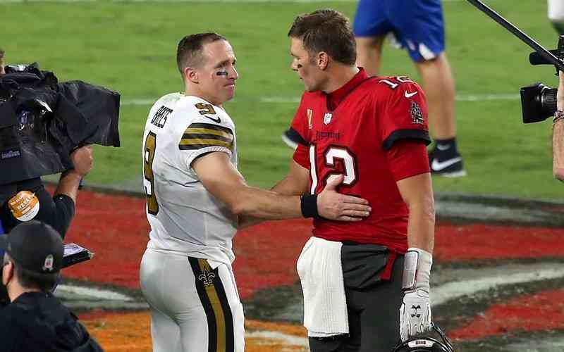 Brady and Brees