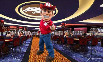 Cornhuskers Mascot At Nebraska Sportsbook