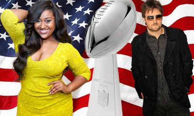Jazmine Sullivan and Eric Church Super Bowl Singers