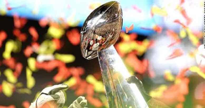 Super Bowl LV Trophy