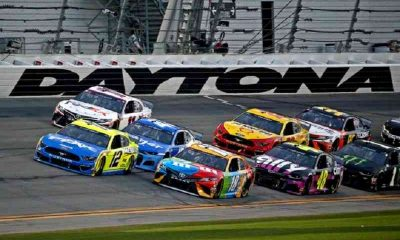 drivers with the top NASCAR odds round the corner of the Daytona 500