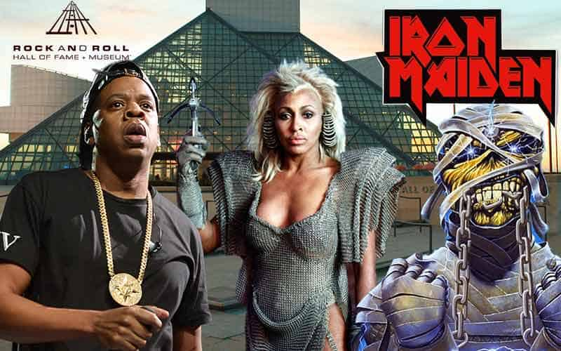 Jay Z Tina Turner and Iron Maiden thinking about their rock and roll hall of fame odds