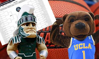 Betting Odds For March Madness matchup between UCLA Bruins and Michigan State Spartans