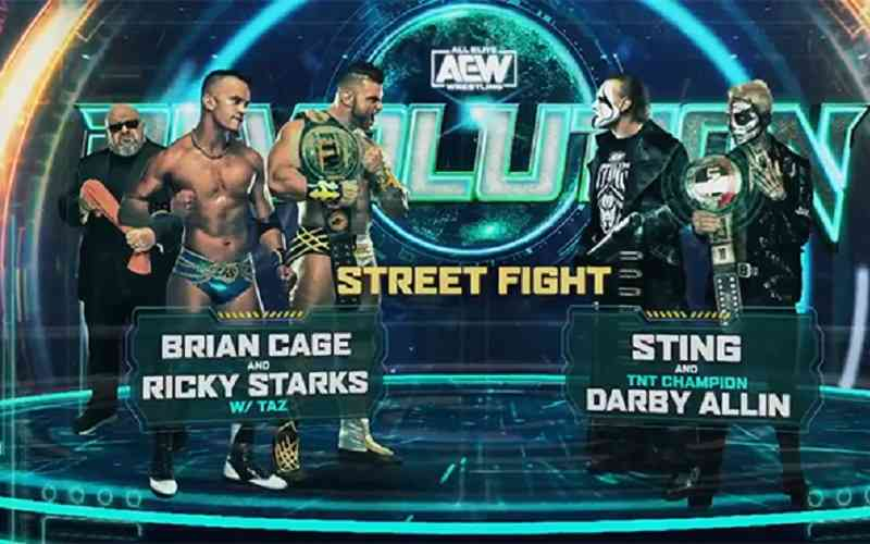 AEW Revolution Promo featuring Sting and Darby Allin against Team Taz