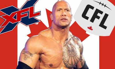 XFL CFL merger odds is on the mind of the Rock