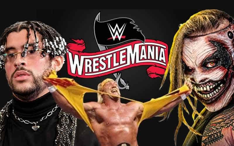 WrestleMania odds for Bad Bunny Hulk Hogan and The Fiend Bray Wyatt