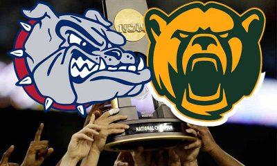 Baylor Gonzaga NCAAB National Title betting odds