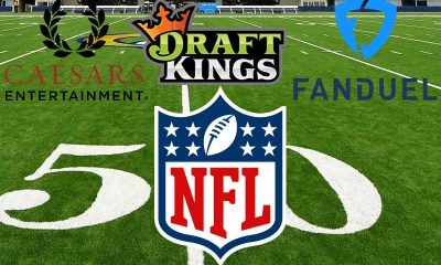 Caesars FanDuel and DradtKings join NFL for sports betting deal
