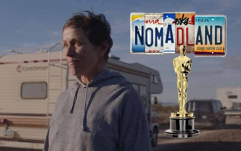 93rd Academy Awards odds favor Nomadland to win best picture