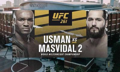 odds for UFC 261