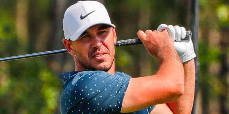 Brooks Koepka Celebrity golf