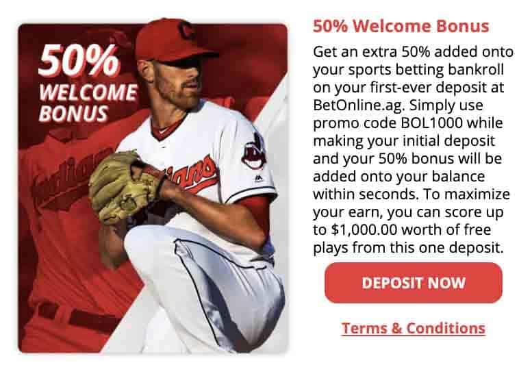 BetOnline Bonus options