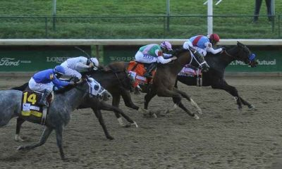 medina spirit winning the 2021 kentucky derby