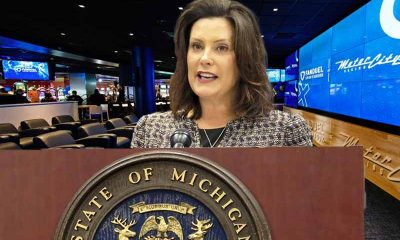 Michigan Governor Gretchen Whitmer approves of March totals for legal sports betting in MI