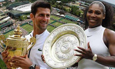 Wimbledon tennis betting odds for 2021 favor Williams and Djokovic