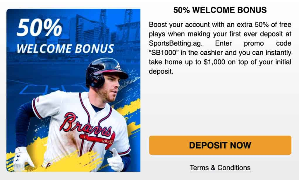 SB welcome bonus
