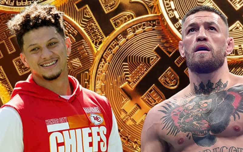 Patrick Mahomes odds to be paid in Bitcoin 2021