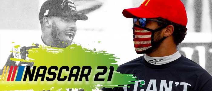NASCAR 21 Bubba Wallace