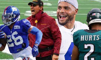 NFC East odds for 2021-22 favor Cowboys