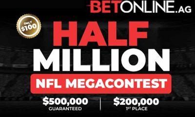 Mega Contest BetOnline NFL Betting Odds 2021-22