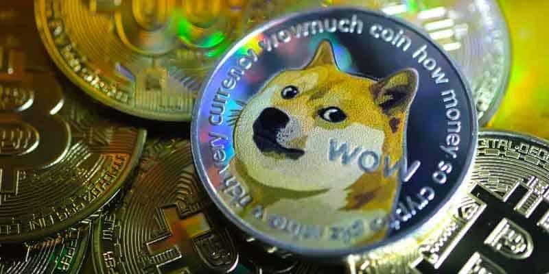 Dogecoin coins