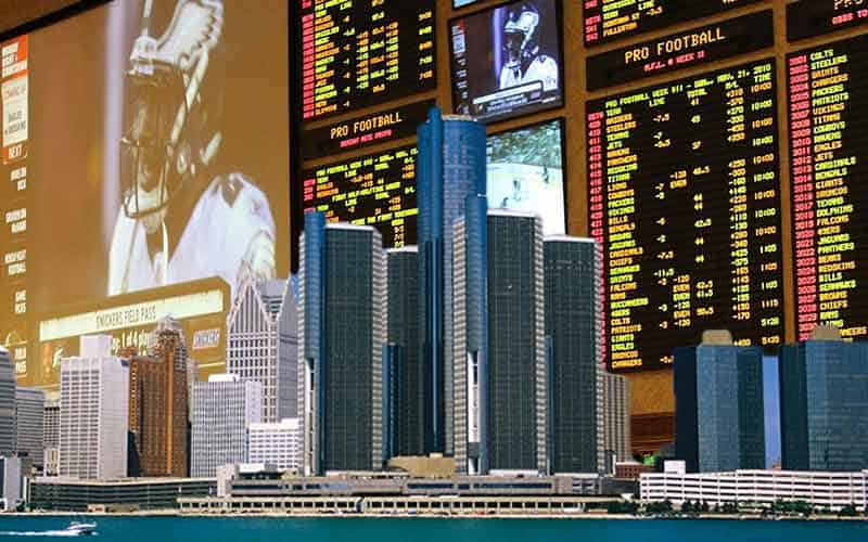 Sports betting revenue in MI June 2021