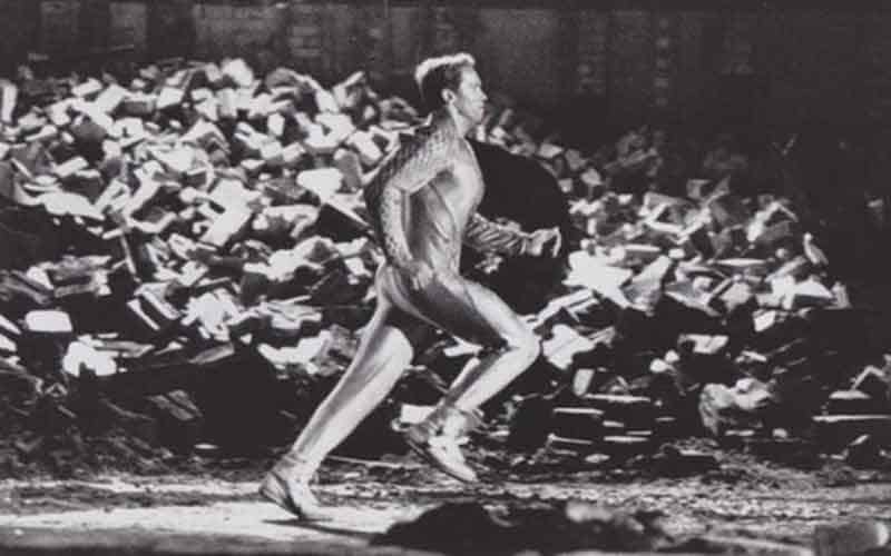 1987 The Running Man Sportsbook Betting Films