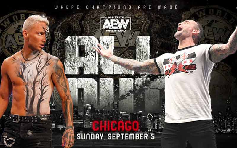AEW odds for CM Punk Darby Allin 2021