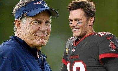Brady Belichick Odds SNF NFL betting Patriots Buccaneers