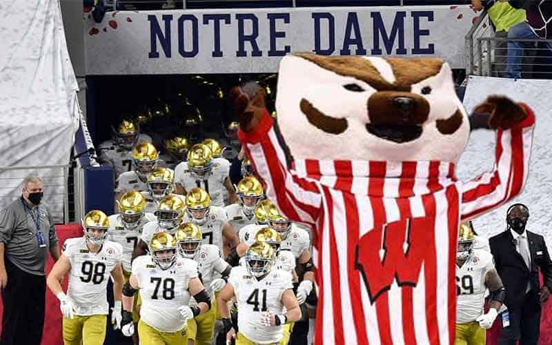Notre Dame odds vs. Wisconsin 2021-22