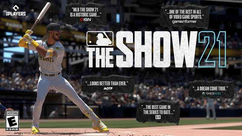 eSports betting odds for MLB The Show 21