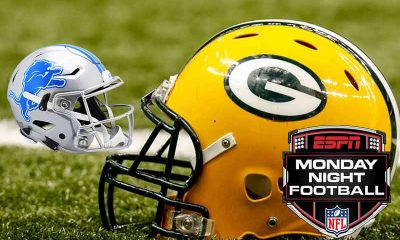 NFL odds for Monday Night Football Lions Packers