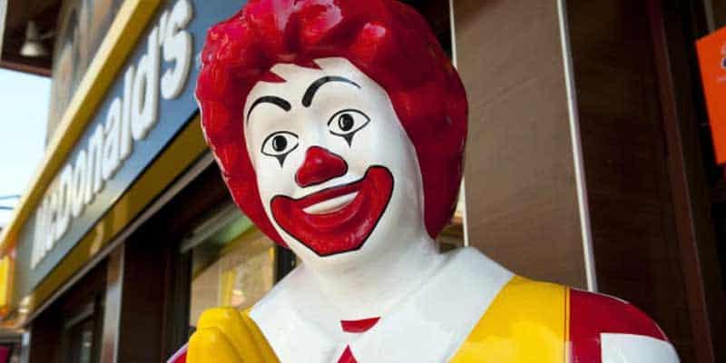 McDonald's betting odds