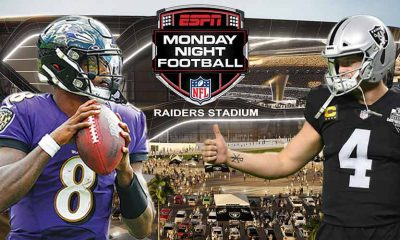 Week 1 NFL odds for Raiders Ravens betting 2021-22