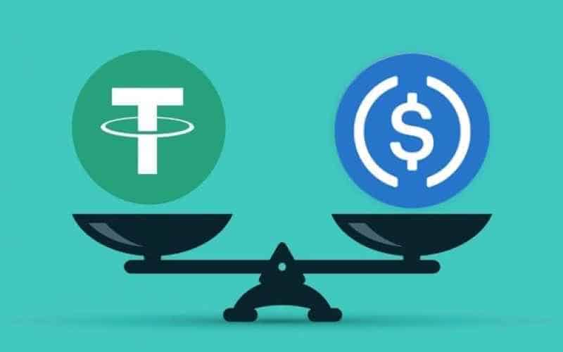 tether vs usd coin