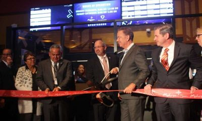 CT red ribbon sports betting opening
