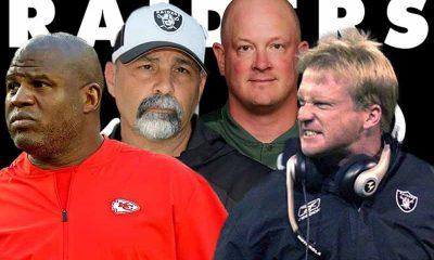 Jon Gruden fired odds for next coach of Las Vegas Raiders